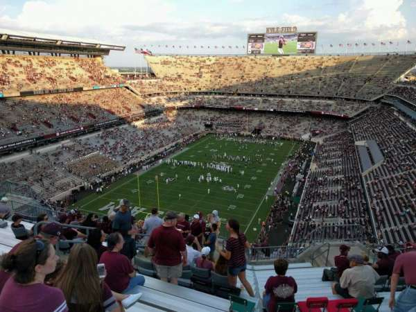 Kyle Field, section: 411, row: 15, seat: 13