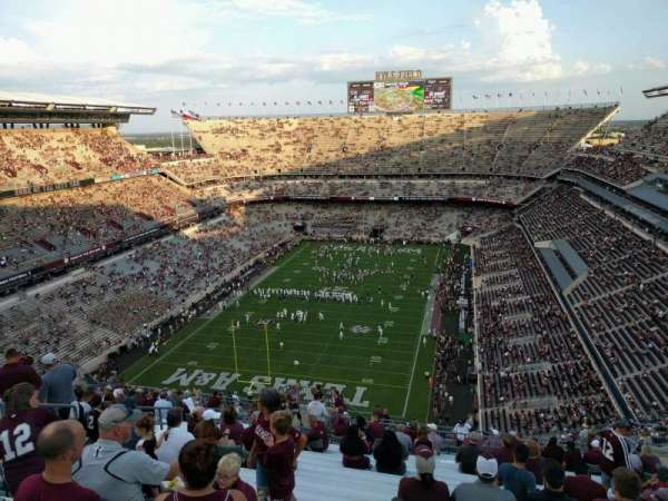 Kyle Field, section: 412, row: 25, seat: 12