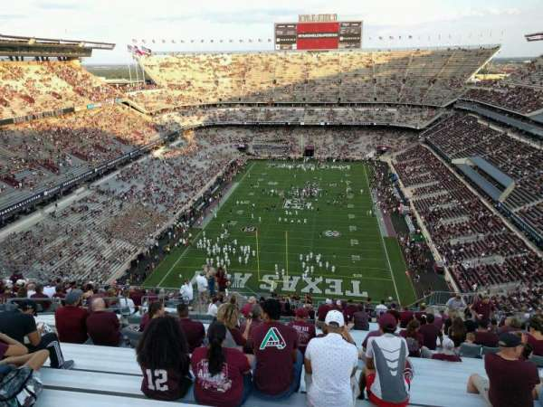 Kyle Field, section: 414, row: 24, seat: 12