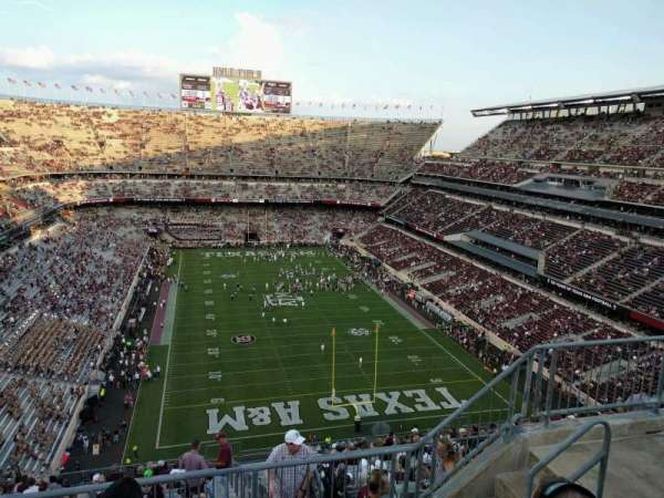 Kyle Field, section: 416, row: 5, seat: 7