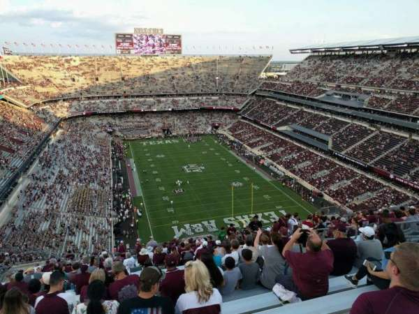 Kyle Field, section: 418, row: 27, seat: 11