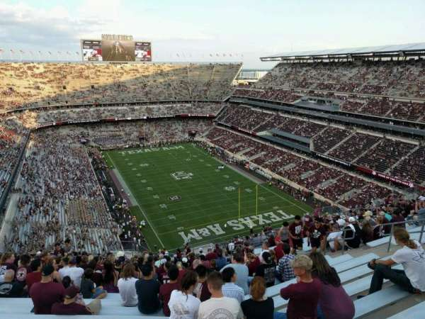 Kyle Field, section: 419, row: 26, seat: 11