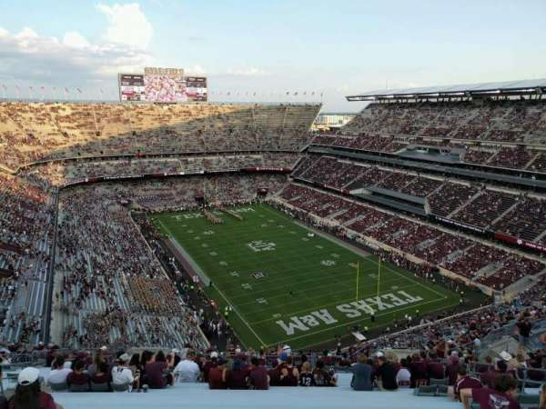 Kyle Field, section: 420, row: 24, seat: 12