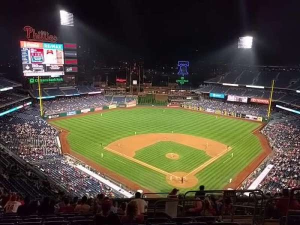 Citizens Bank Park, section: 422, row: 16, seat: 4