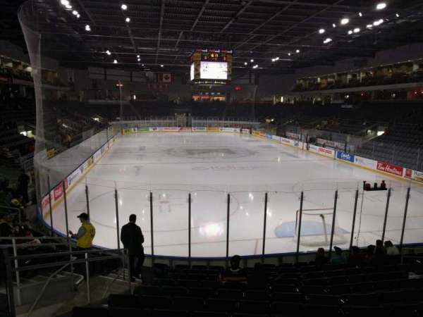 Leon's Centre, section: 108, row: 13, seat: 14
