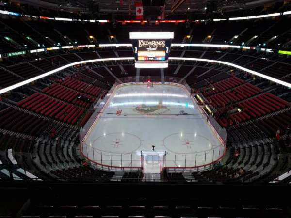 Canadian Tire Centre, section: 315, row: g, seat: 9