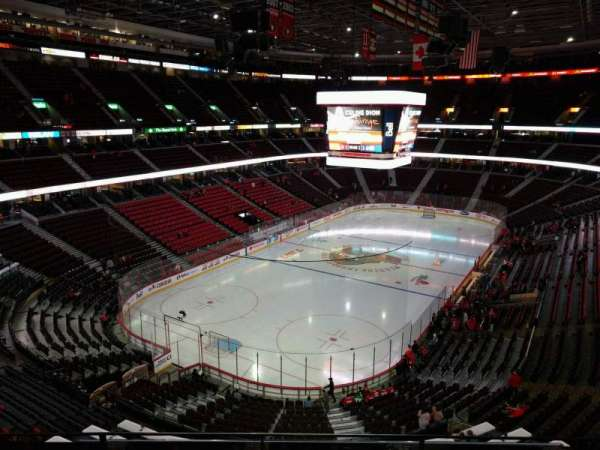 Canadian Tire Centre, section: 313, row: d, seat: 7