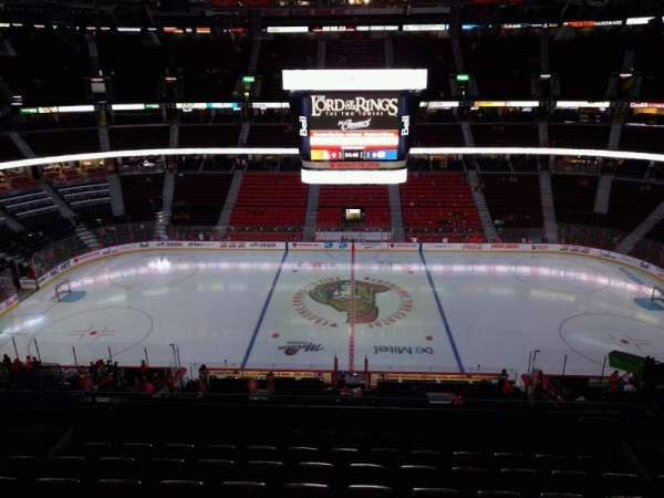 Canadian Tire Centre, section: 308, row: h, seat: 10