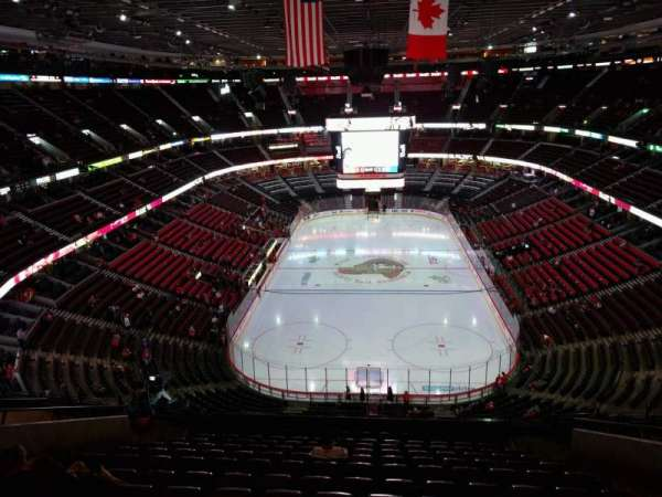 Canadian Tire Centre, section: 301, row: n, seat: 9