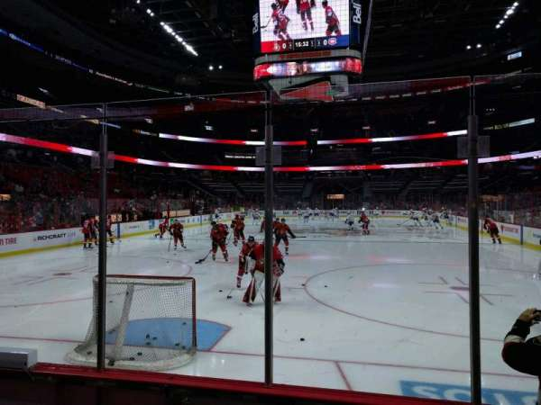 Canadian Tire Centre, section: 101, row: d, seat: 2
