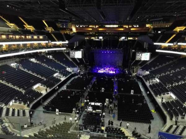 Chase Center, section: 212, row: 3, seat: 18