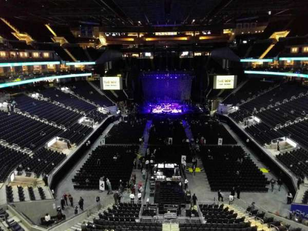 Chase Center, section: 213, row: 1, seat: 6