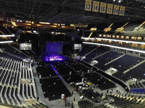 Chase Center, section: 215, row: 5, seat: 7
