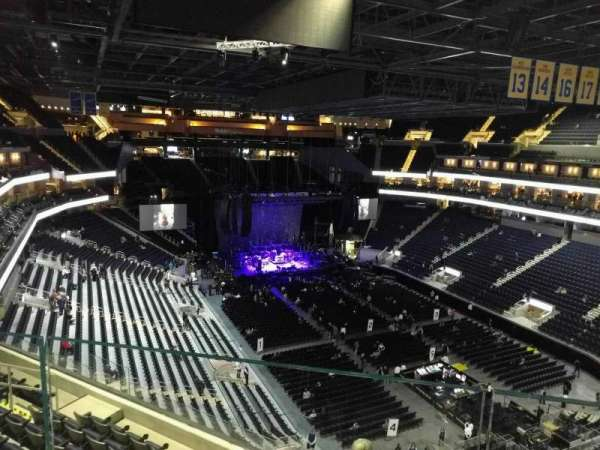 Chase Center, section: 216, row: aca, seat: 4