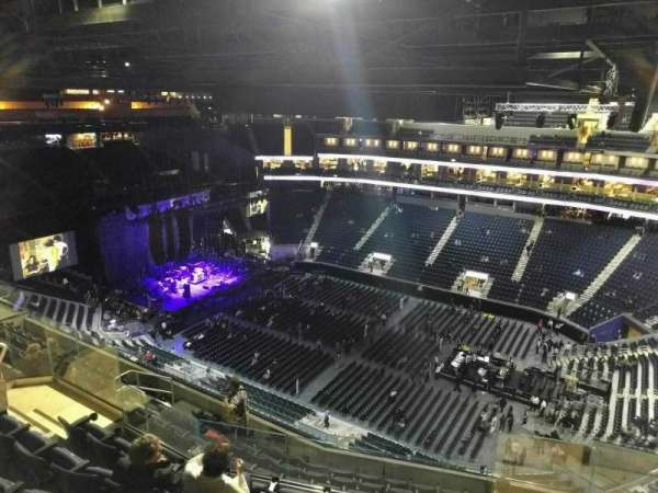 Chase Center, section: 218, row: 15, seat: 6