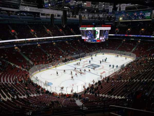 Rogers Arena, section: 312, row: 11, seat: 104