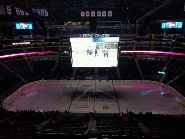 Pepsi Center, section: 302, row: 11, seat: 7