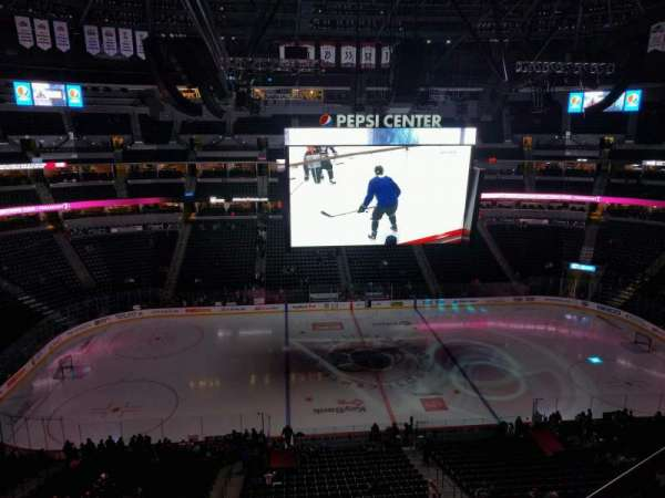 Pepsi Center, section: 304, row: 6, seat: 4