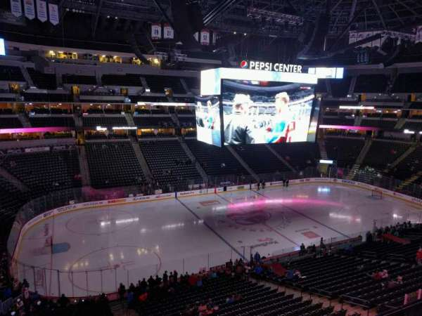 Pepsi Center, section: 309, row: 1, seat: 6