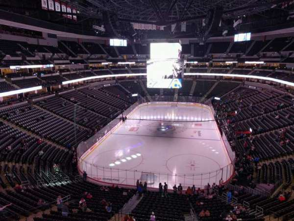 Pepsi Center, section: 319, row: 2, seat: 18