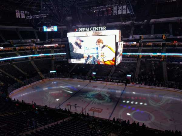 Pepsi Center, section: 339, row: 2, seat: 8
