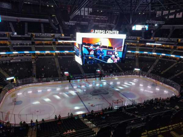 Pepsi Center, section: 346, row: 6, seat: 7