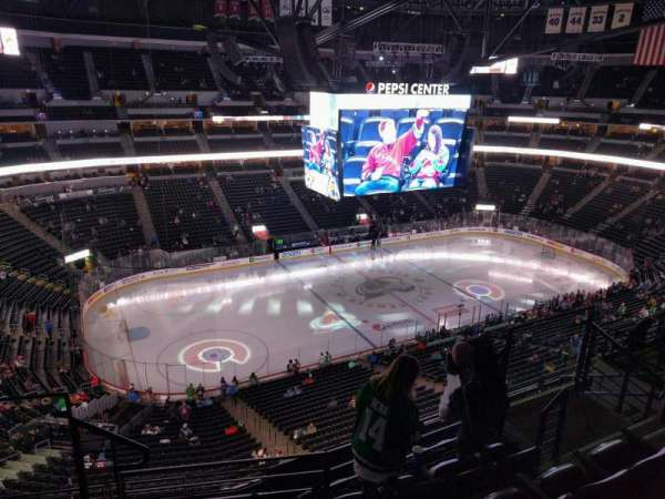 Pepsi Center, section: 348, row: 8, seat: 8