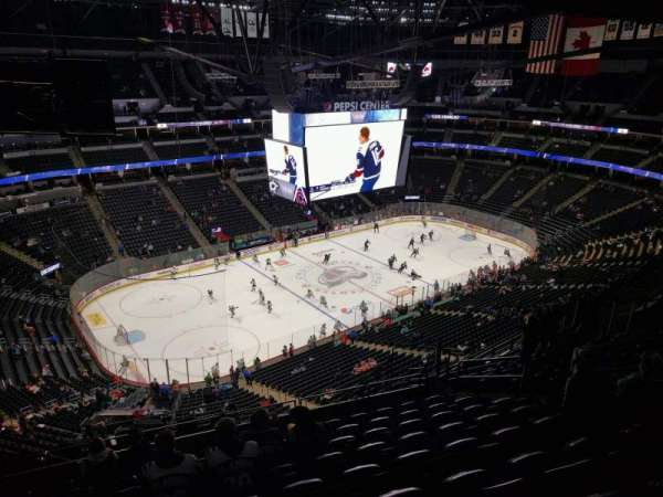 Pepsi Center, section: 350, row: 14, seat: 10