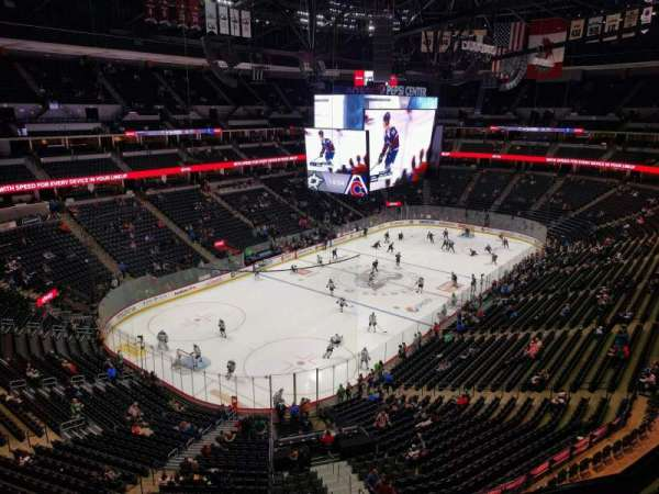 Pepsi Center, section: 354, row: 4, seat: 3