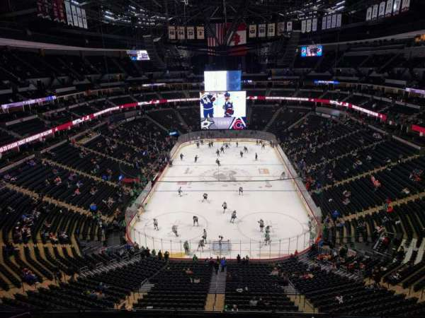 Pepsi Center, section: 362, row: 8, seat: 9