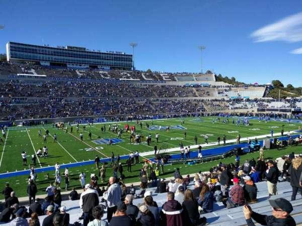 Falcon Stadium, section: L24, row: bb, seat: 26
