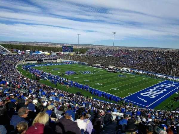 Falcon Stadium, section: m3, row: x, seat: 31