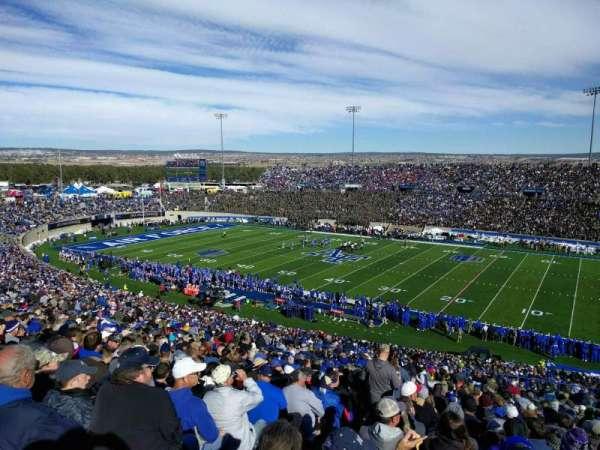 Falcon Stadium, section: m5, row: z, seat: 32