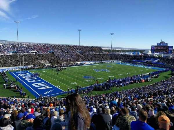 Falcon Stadium, section: m13, row: x, seat: 1