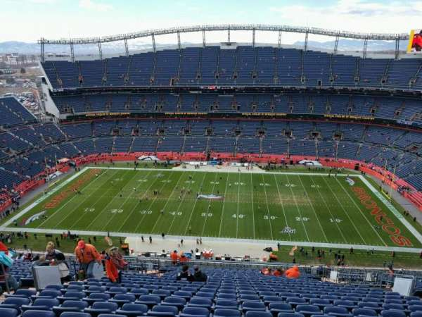 Empower Field at Mile High Stadium, section: 533, row: 25, seat: 11