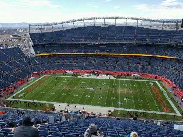 Empower Field at Mile High Stadium, section: 532, row: 31, seat: 12