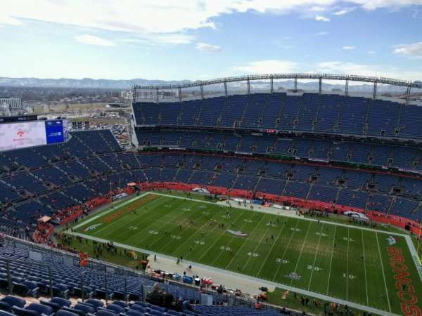 Empower Field at Mile High Stadium, section: 531, row: 33, seat: 18