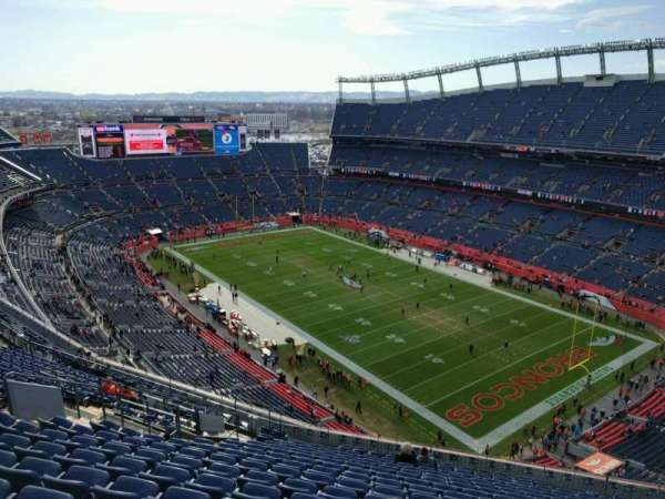 Empower Field at Mile High Stadium, section: 527, row: 18, seat: 12