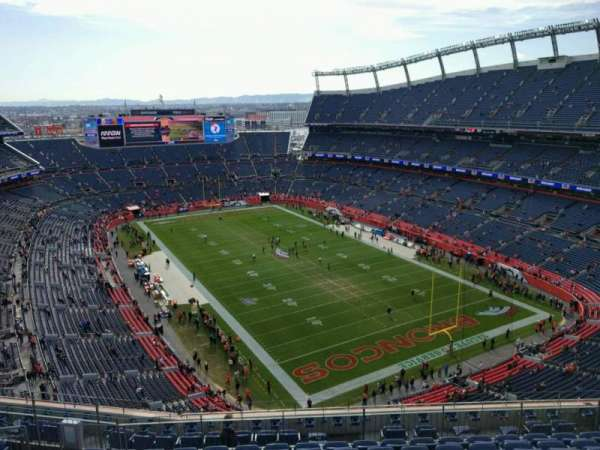 Empower Field at Mile High Stadium, section: 625, row: 12, seat: 15
