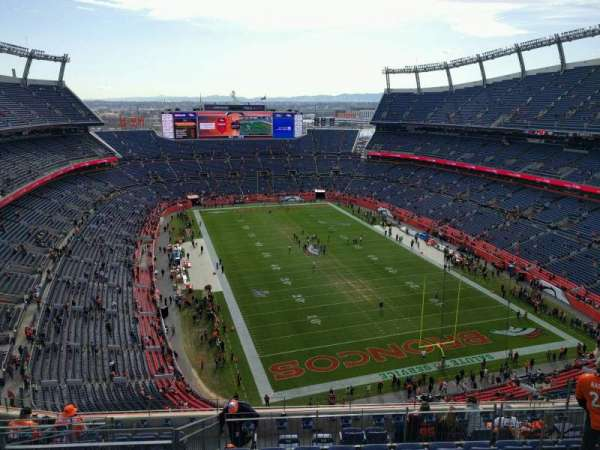 Empower Field at Mile High Stadium, section: 524, row: 11, seat: 10