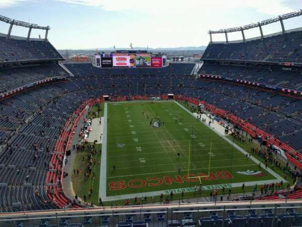 Empower Field at Mile High Stadium, section: 523, row: 9, seat: 10