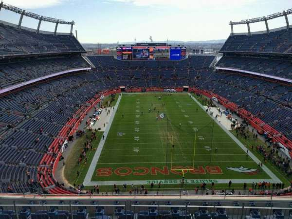 Empower Field at Mile High Stadium, section: 622, row: 8, seat: 6