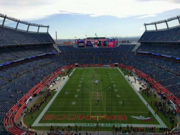 Empower Field at Mile High Stadium, section: 521, row: 5, seat: 10