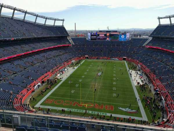Empower Field at Mile High Stadium, section: 520, row: 10, seat: 10