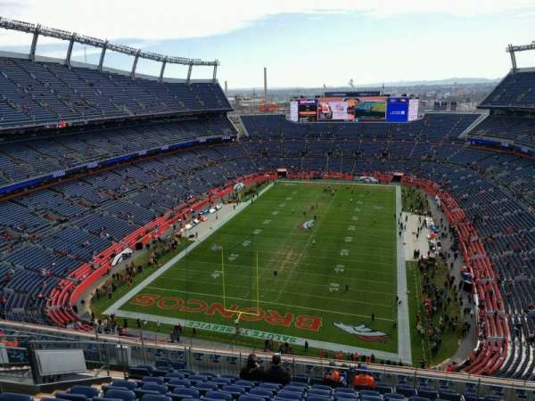 Empower Field at Mile High Stadium, section: 519, row: 13, seat: 20