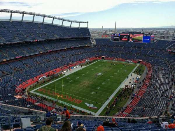 Empower Field at Mile High Stadium, section: 517, row: 19, seat: 19