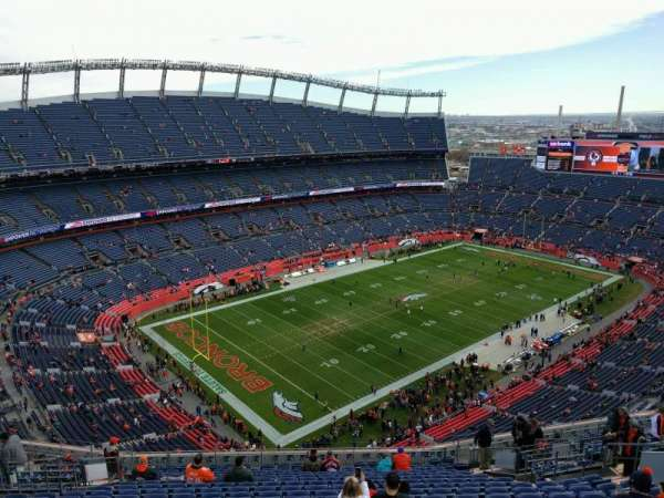Empower Field at Mile High Stadium, section: 515, row: 20, seat: 15