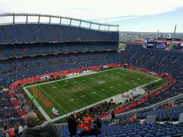 Empower Field at Mile High Stadium, section: 514, row: 21, seat: 17