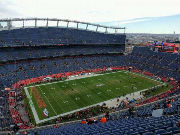 Empower Field at Mile High Stadium, section: 613, row: 23, seat: 18