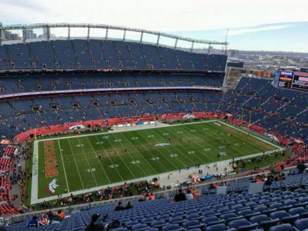 Empower Field at Mile High Stadium, section: 512, row: 27, seat: 17